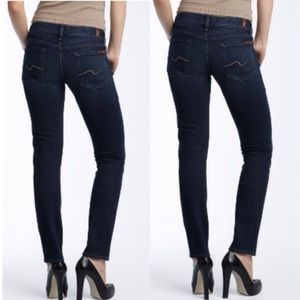 NWOT 7 for All Mankind Roxanne Skinny Jeans